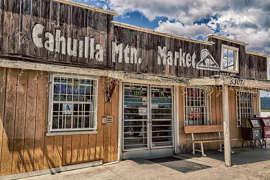 Cahuilla Mountain Market by Alison Frank