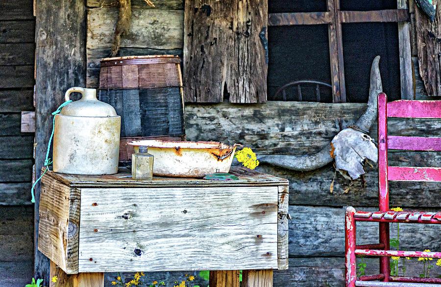 Cajun Cabin Porch 2 Photograph