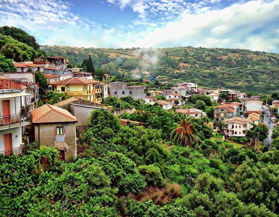 Calabria Scenic View by Anthony Dezenzio
