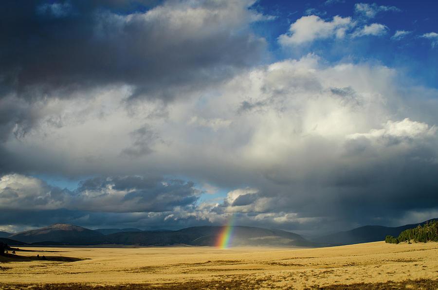 Valles Caldera National Preserve Photograph - Caldera Rainbow by Jeff Phillippi