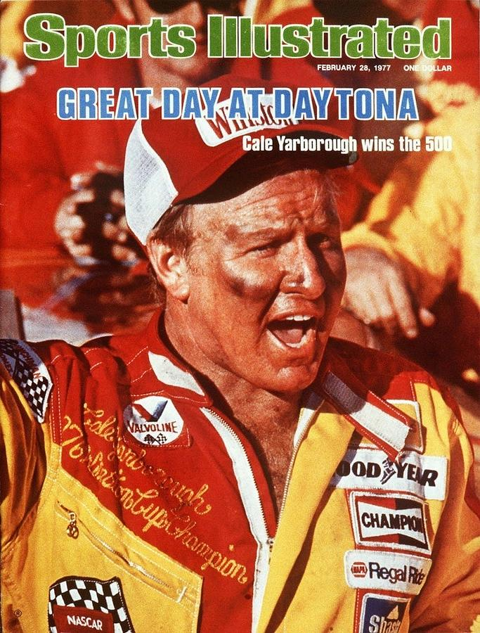 Cale Yarborough, 1977 Daytona 500 Sports Illustrated Cover Photograph by Sports Illustrated