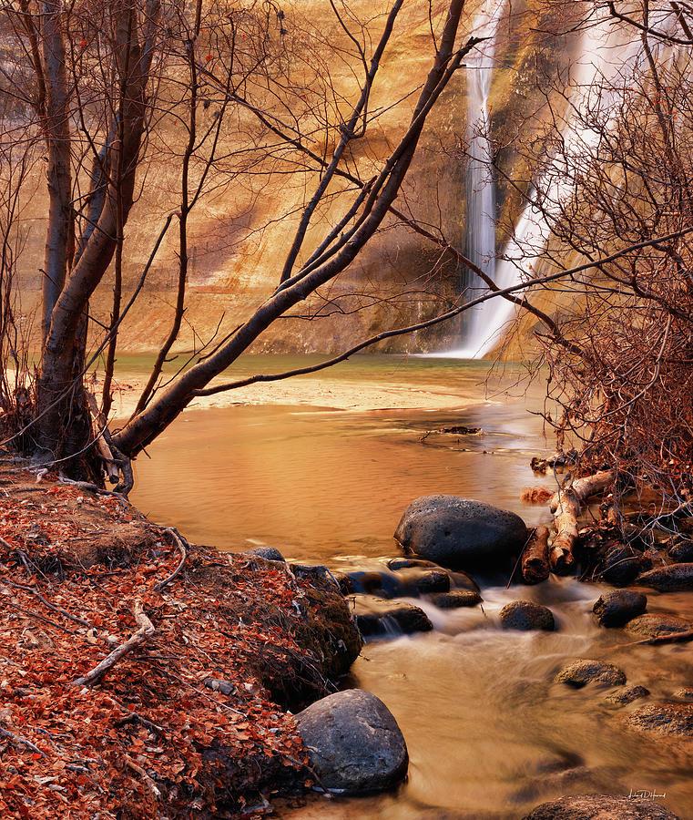 Cascade Photograph - Calf Creek Falls 3 by Leland D Howard