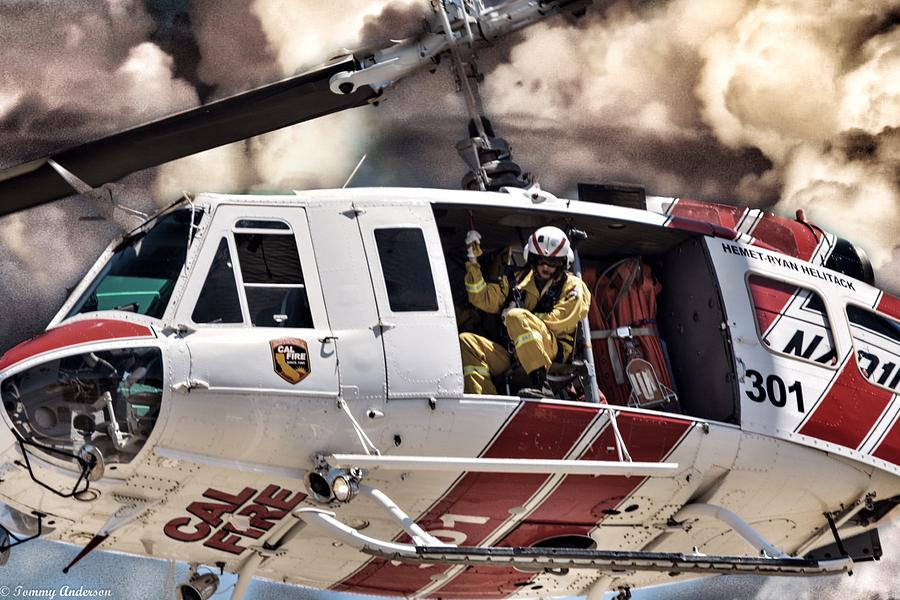 CALFIRE Air Rescuers  by Tommy Anderson
