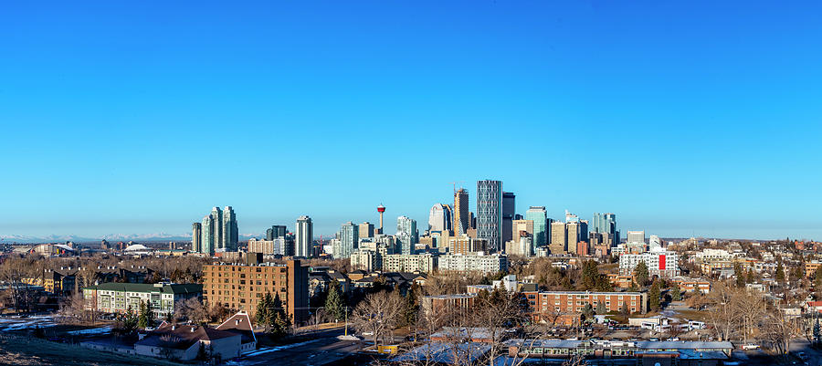 Calgary City Center by Philip Rispin