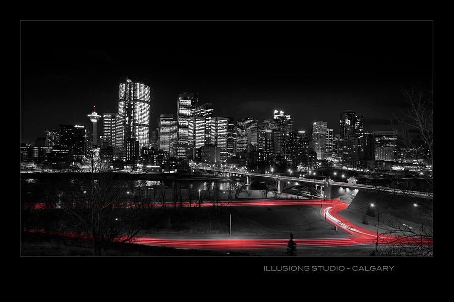 Calgary skyline by David Brookwell