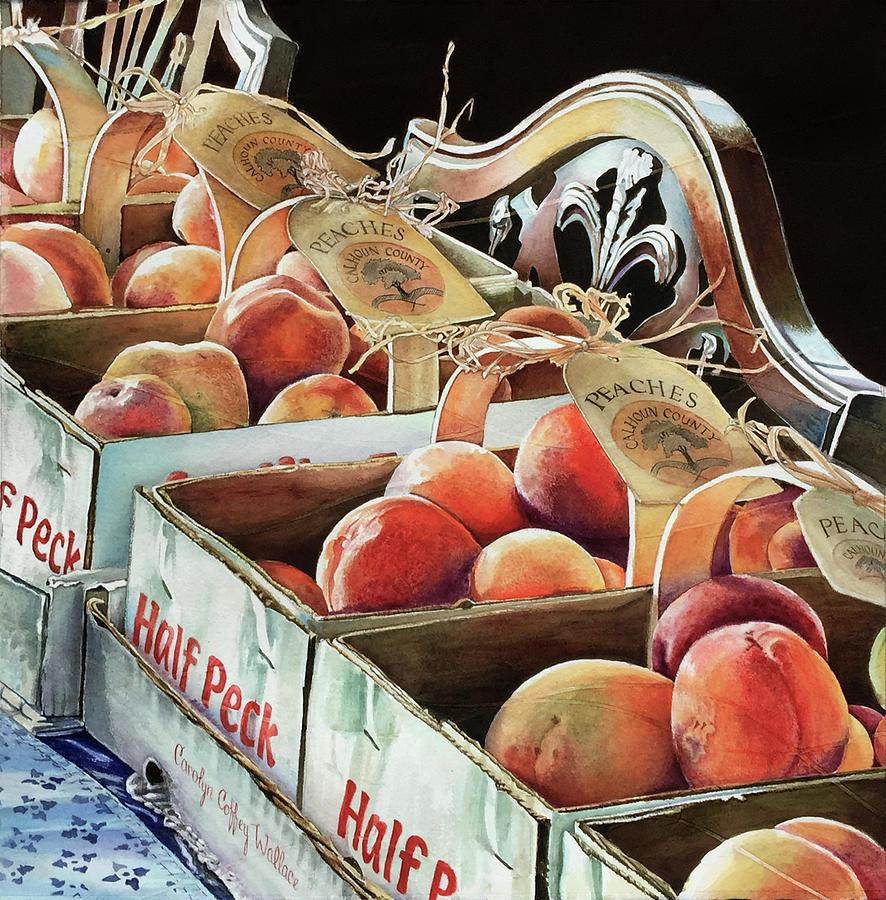 Calhoun Peaches by Carolyn Coffey Wallace