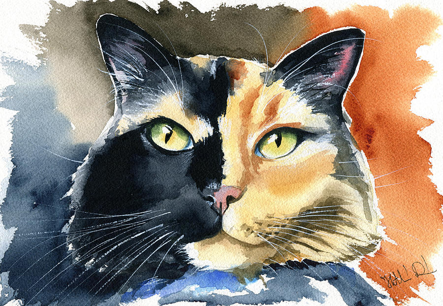Calico Cats Rule by Dora Hathazi Mendes