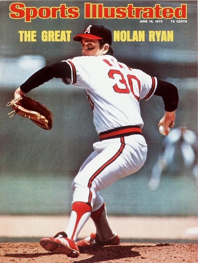 California Angels Nolan Ryan... Sports Illustrated Cover Photograph by Sports Illustrated