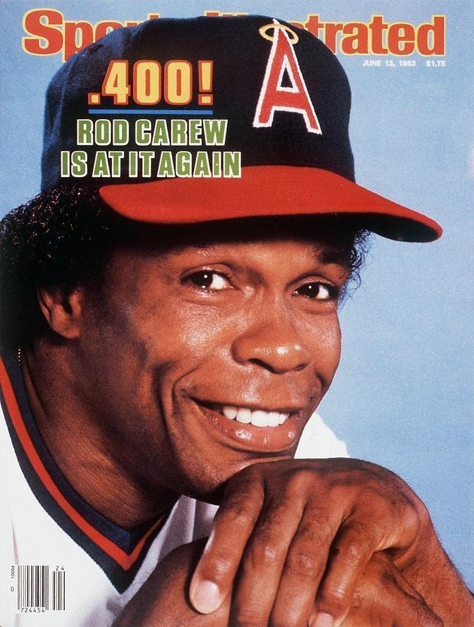 California Angels Ron Carew Sports Illustrated Cover Photograph by Sports Illustrated