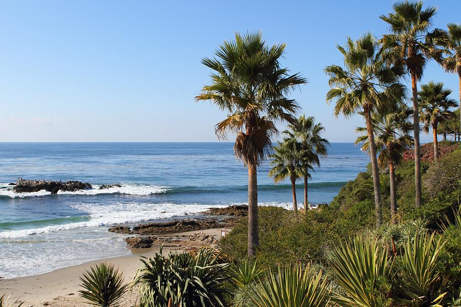 California Beach Photograph by Behindthelens
