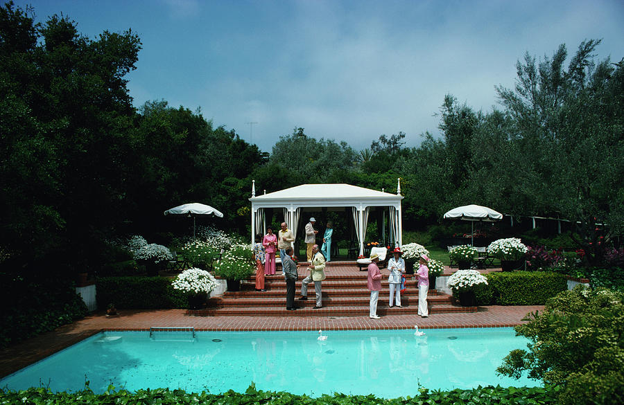California Garden Party Photograph by Slim Aarons