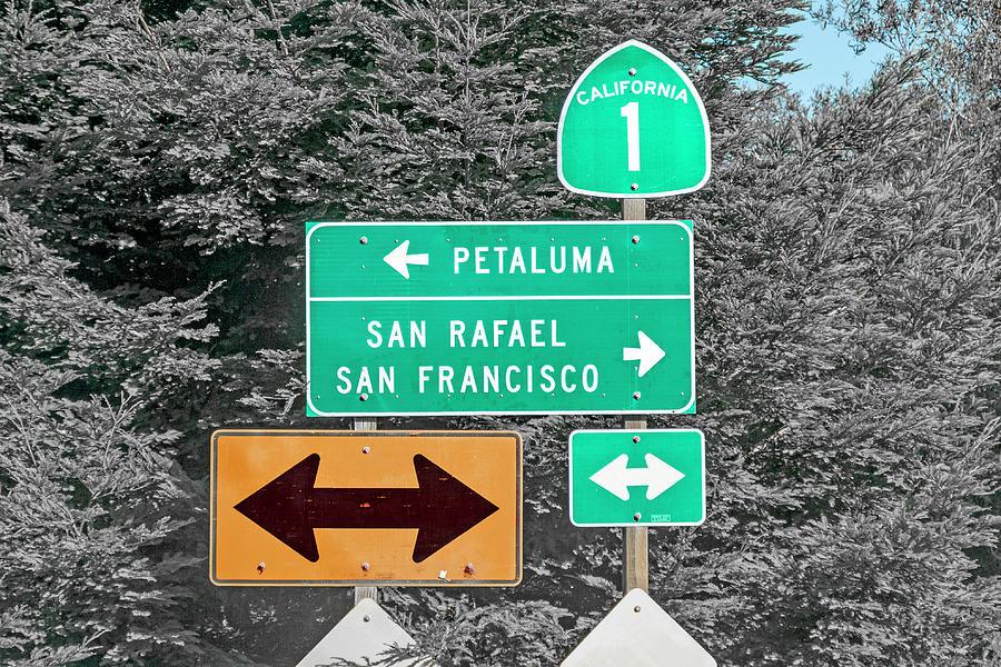 California Photograph - California Highway 1 Good Times by Betsy Knapp