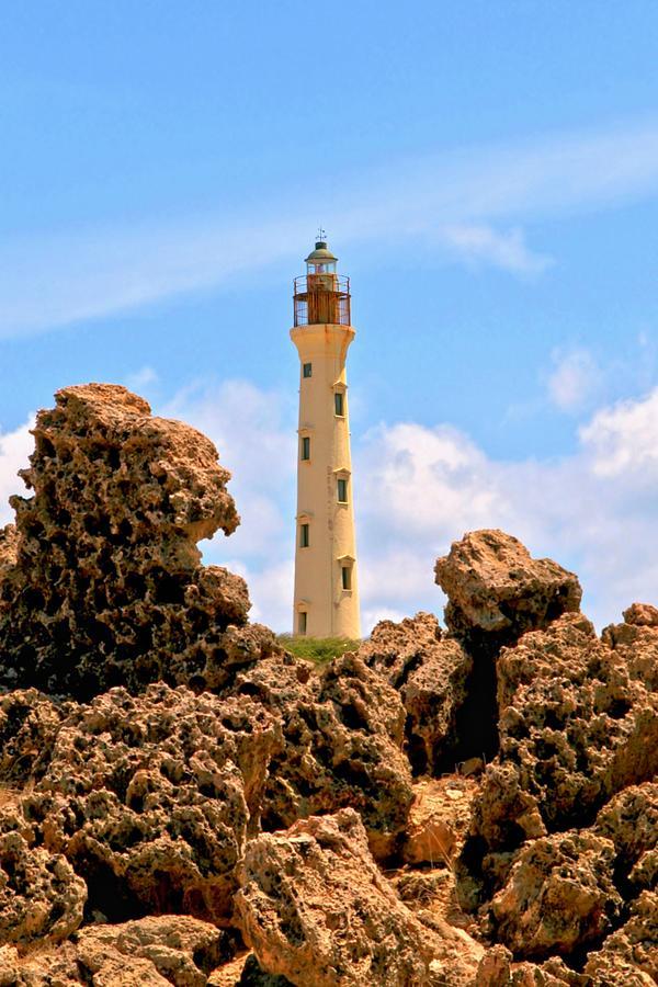 California Lighthouse Aruba Photograph