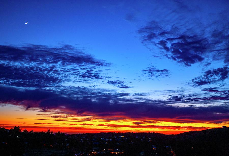 California Mountain Sunset by Anthony Jones