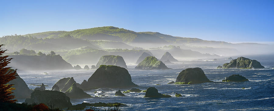 Northern California Photograph - California Ocean by Jon Glaser