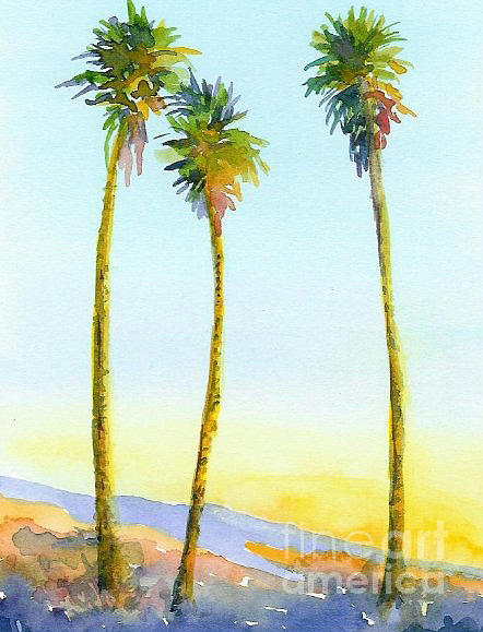 California Palms by Anne Marie Brown