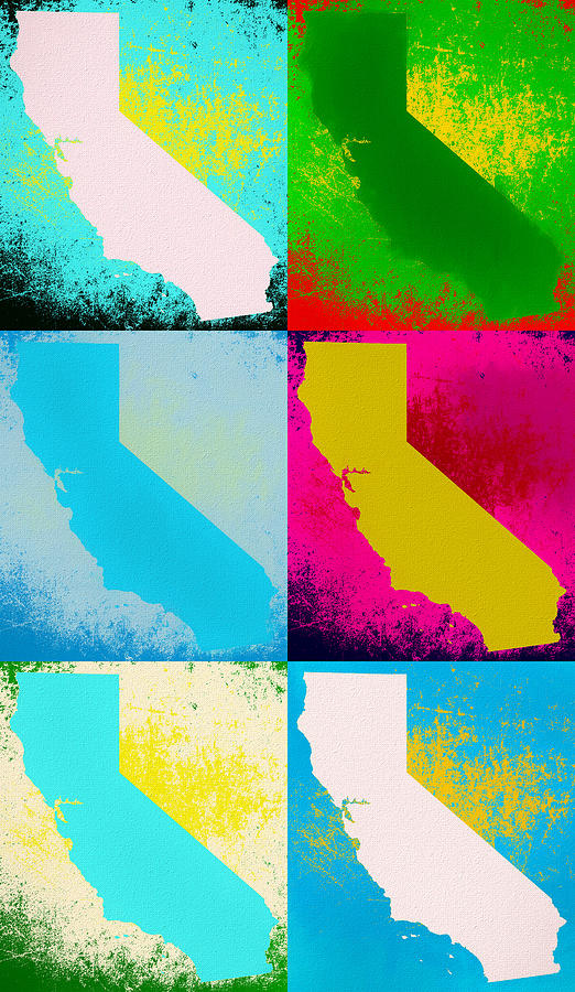 Andy Warhol Mixed Media - California Pop Art Panels by Dan Sproul