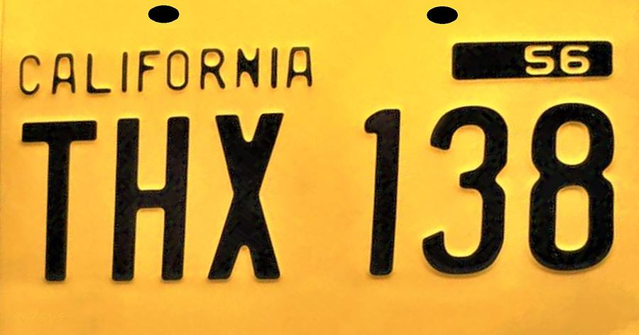 CALIFORNIA T H X 138 by Rob Hans