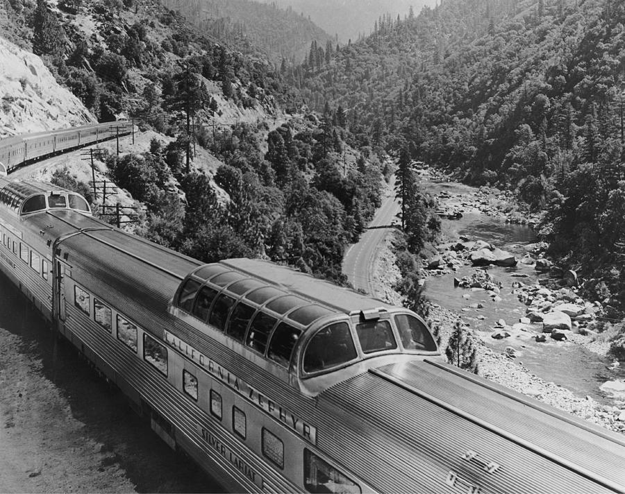 California Zephyr Photograph by Pictorial Parade