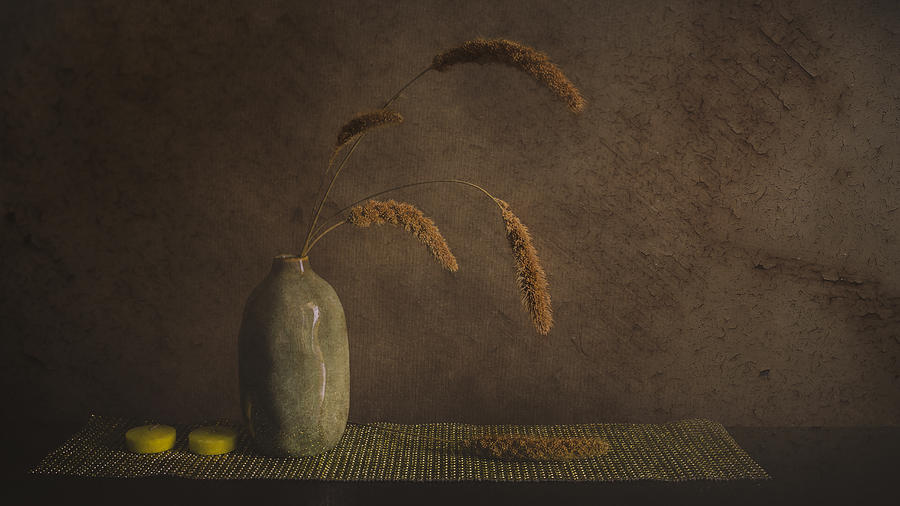 Vase Photograph - Calm And Passionate by çiçek K?ral