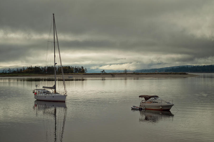 Comox Photograph - Calm Before A Storm by Randy Hall