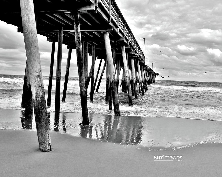 Calm Before The Storm BW by Susie Loechler