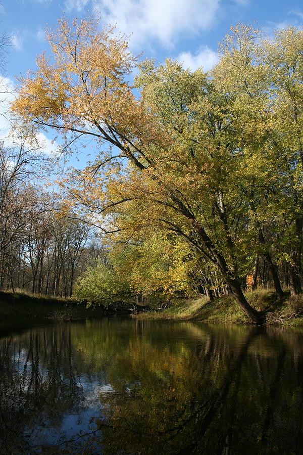 Calm Mackinaw Fall by Dylan Punke