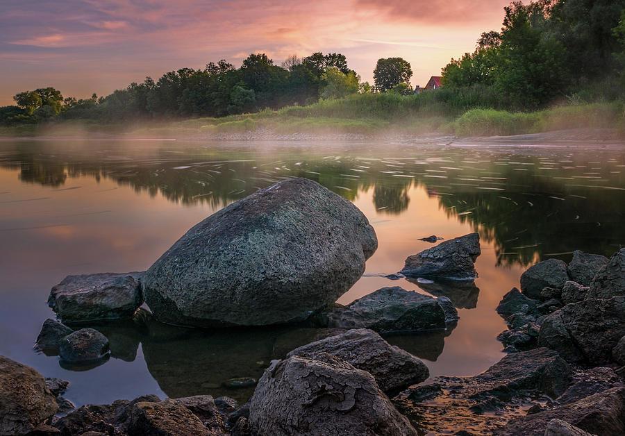 Calm morning on Oder by Dmytro Korol