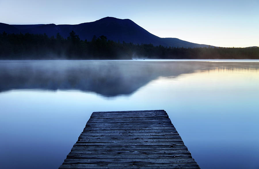 Calm Pond With Boardwalk Photograph by Denistangneyjr