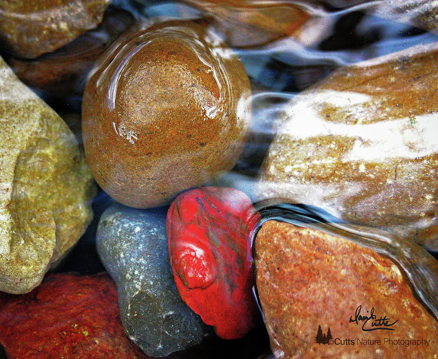 Calming Stones by David Cutts