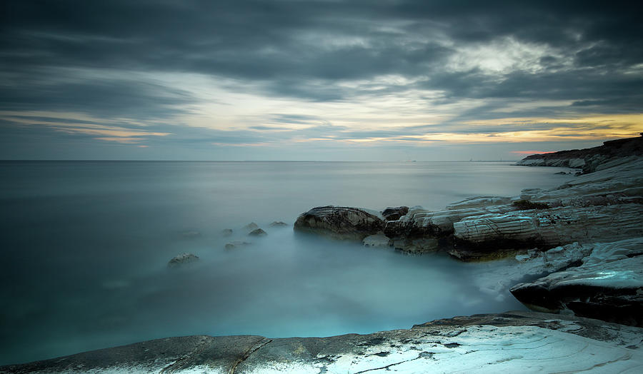 Calmness of the sea by Michalakis Ppalis