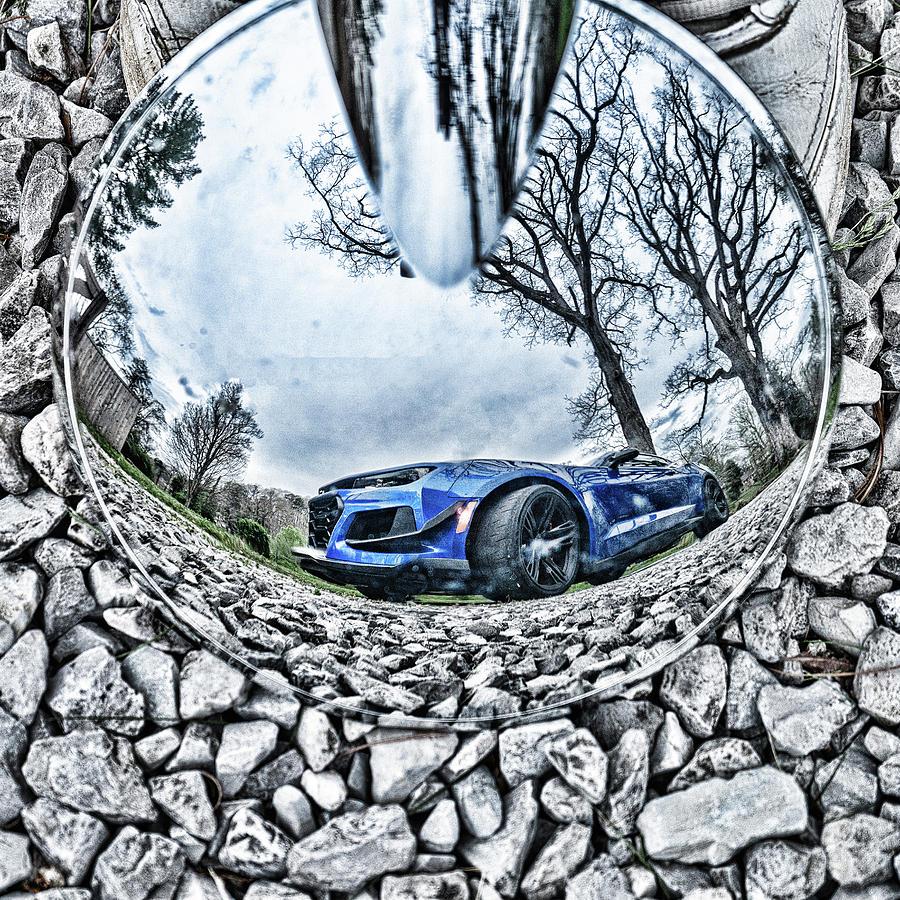 Camaro Reflection by Sharon Popek