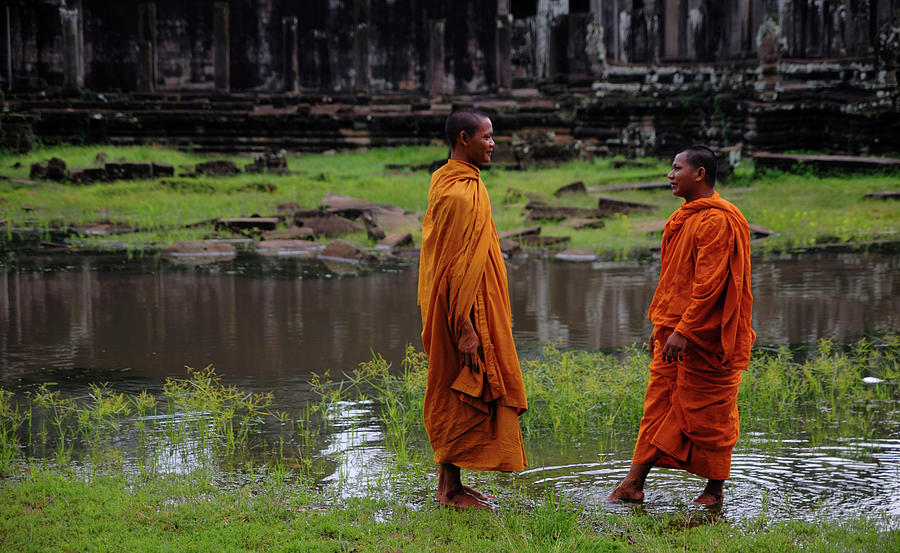 Cambodia Photograph by Rawpixel