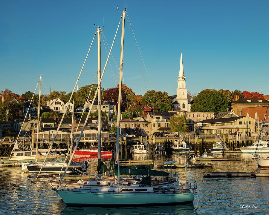 Camden Maine Harbor by Tim Kathka