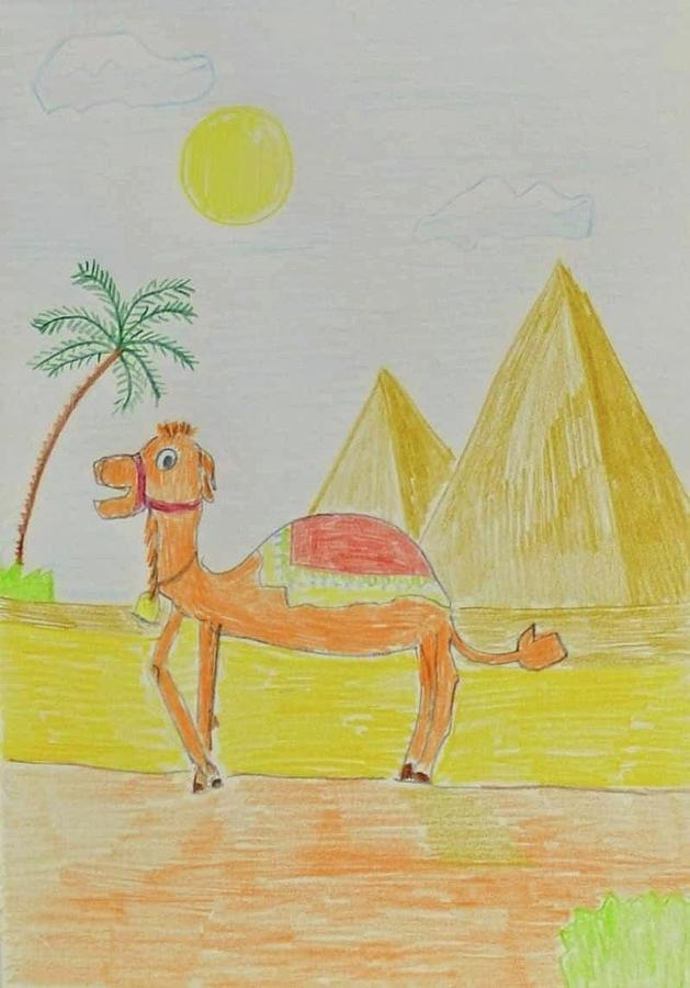 Camel 2  by Magdalena Frohnsdorff