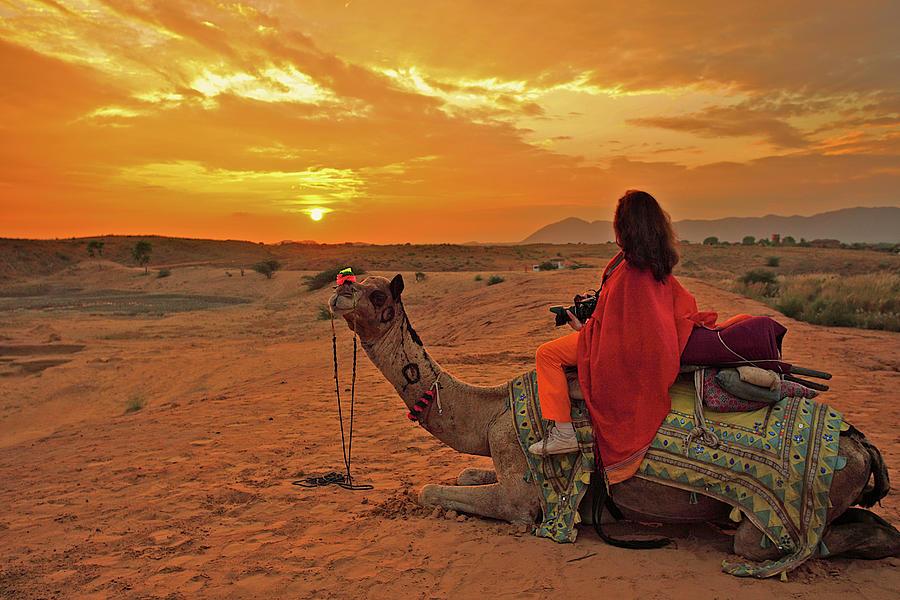 Camel Ride Photograph by Alexandros Photos