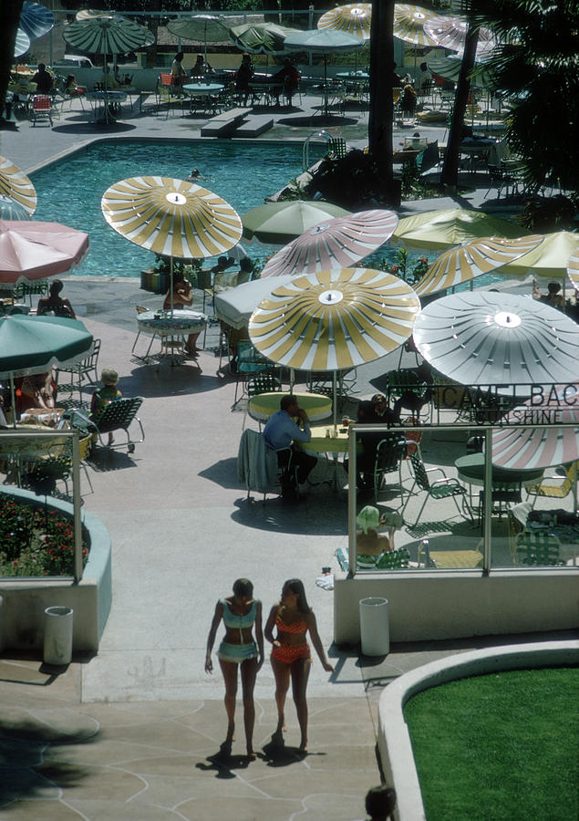 Camelback Inn Photograph by Slim Aarons