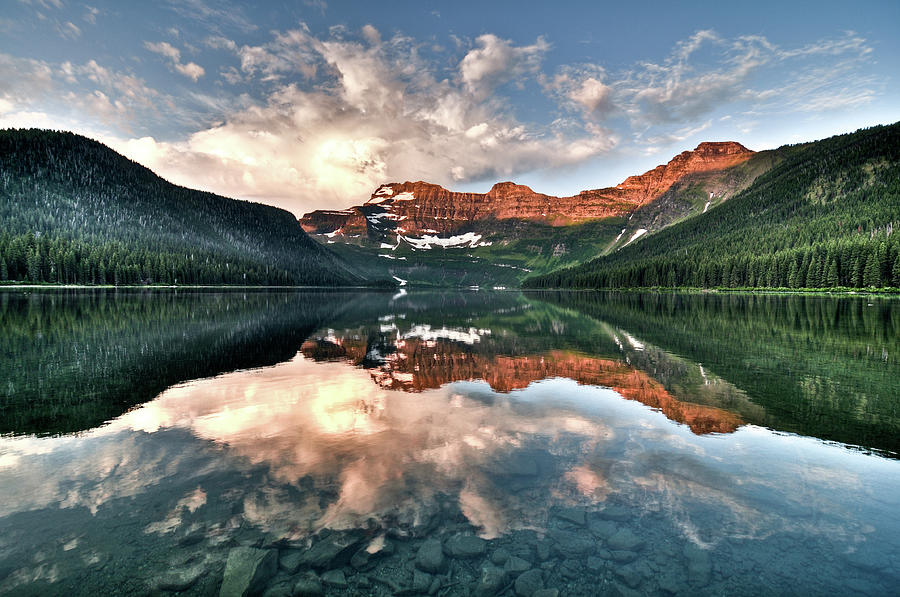 Cameron Lake Photograph by Marko Stavric Photography