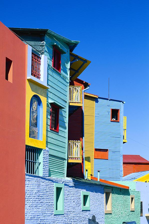 Caminitas La Boca District, Buenos Photograph by Brand X Pictures