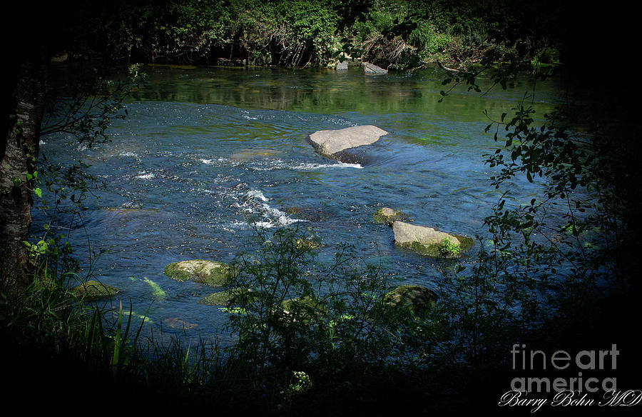 Ribadumia  whirlpool by Barry Bohn