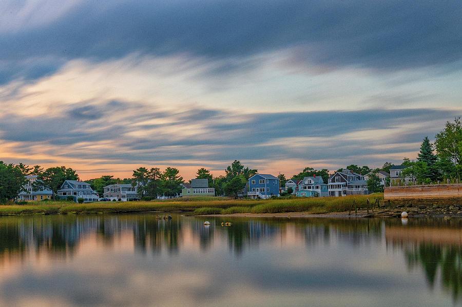 Shore Photograph - Camp Ellis, Maine by Bob Doucette