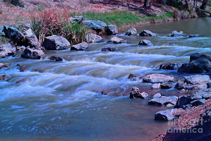 River Photograph - Campaspe River 4 by Graham Buffinton