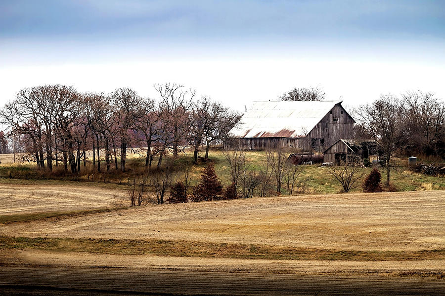 America Photograph -  Campbells Old Barn by Rick Grisolano Photography LLC