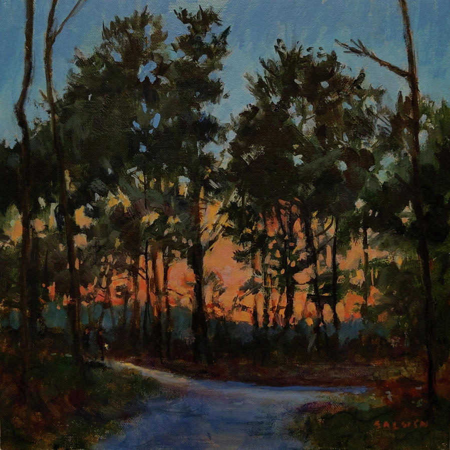 Campground at Dusk by Peter Salwen