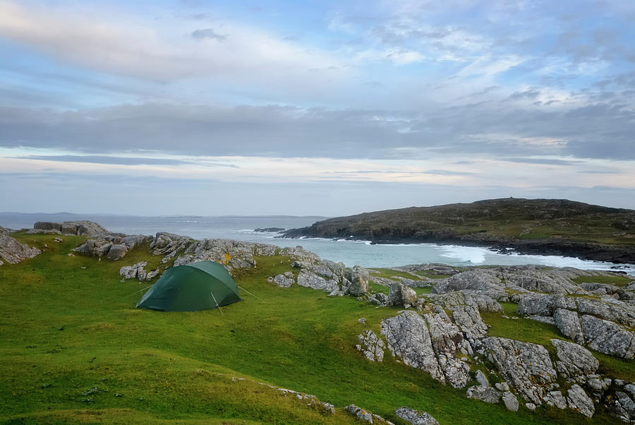 Camping In Ireland Photograph by Sjo