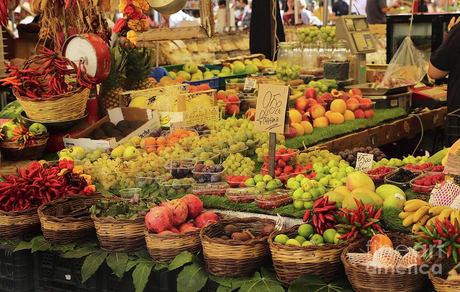 Campo de Fiori  market by Peter Skelton