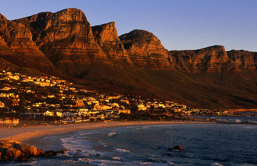 Camps Bay, Wide Angle, Cape Town, South Photograph by Lonely Planet