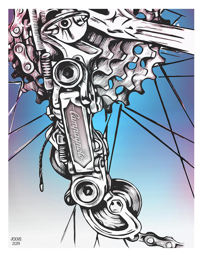 Campy Derailleur Drawing