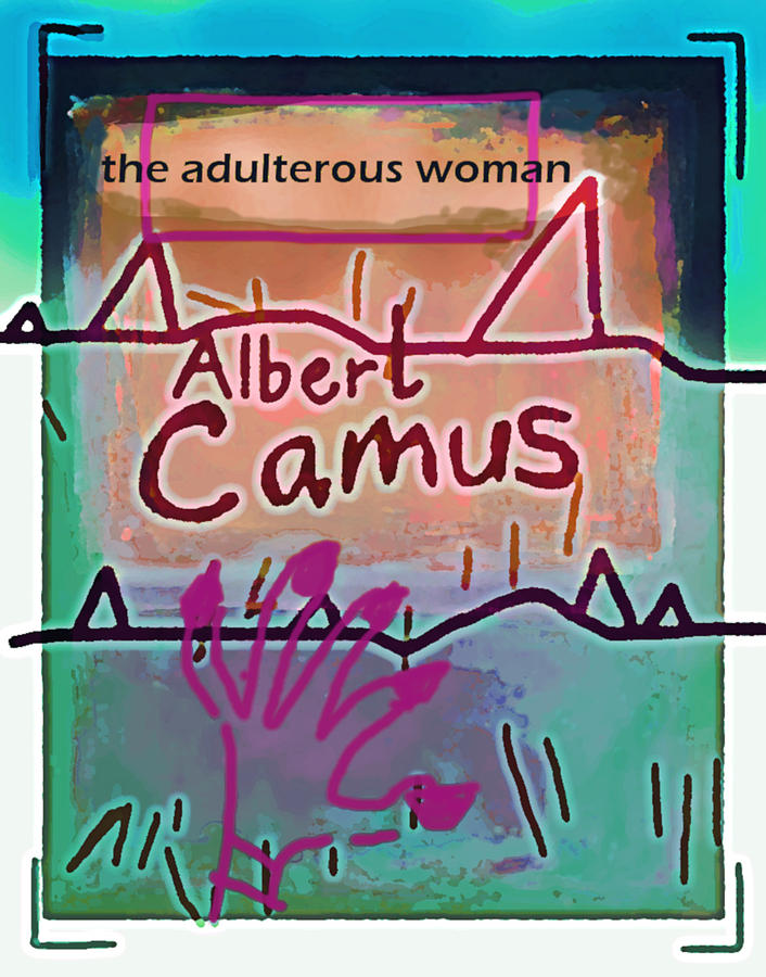 Camus Adulterous Woman Poster by Paul Sutcliffe