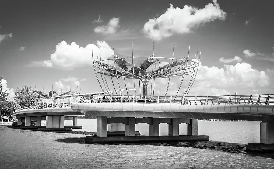 Can Tho Bridge Vietnam by Gary Gillette